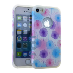 Rocker Series Slim Protector Case for Apple iPhone 5 / 5S (Dandelion Design)