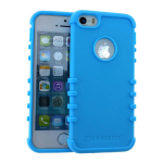 Rocker Series Slim Protector Case for Apple iPhone 5 / 5S (Light Blue)