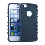 Rocker Series Slim Protector Case for Apple iPhone 5 / 5S (Gray)