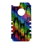 Rocker Slim Snap-On Case for iPhone 5S-Trees Design