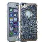 Rocker Series Slim Protector Case for Apple iPhone 6 / 6S (Crystal Glittery Silver)