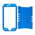 Rocker Series Snap-On Protector Case for Apple iPhone 6 (Fluorescent Pearl Blue)