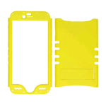 Rocker Series Snap-On Protector Case for Apple iPhone 6 (Fluorescent Pearl Yellow)