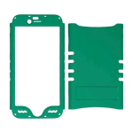 Rocker Series Snap-On Protector Case for Apple iPhone 6 (Rubberized Emerald Green)