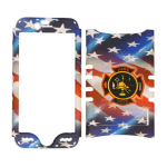 Rocker Series Snap-On Protector Case for Apple iPhone 6 (American Flag)