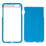 Snap-On Protector Case for Apple iPhone 6 Plus (Pearl Light Blue)