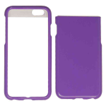 Snap-On Protector Case for Apple iPhone 6 Plus (Pearl Dark Purple)