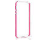 Unlimited Cellular iPhone 5 bumper - Pink/White