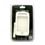 CellAllure Vertical Pouch for Apple iPhone3G/3GS - White