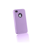 Face iShine Cover Case for Apple iPhone 4 (Lavender)