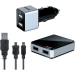 dreamGEAR iSound Dual Micro USB Travel Charger