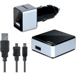dreamGEAR iSound 2-in-1 Micro USB Travel Charger & AC Adapter
