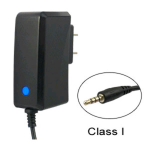 Cellular Accents Lightning Travel Charger for Apple iPod Shuffle (Black) - IW-TCIPODSHU