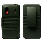 Unlimited Cellular J3X Holster Shield Combo for HTC Hero S (Black)