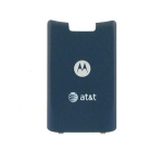 OEM Motorola K1 Replacement Battery Door Cover - Blue