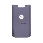 OEM Motorola KRZR K1M Battery Door Cover, Standard Size (Gray)