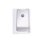 OEM Motorola K1M Extended Battery Door Cover - White