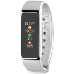 MyKronoz ZeFit3 Activity Tracker in White/Silver