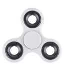 KuKu Fidget Hand Finger Spinner Toy - White (For Kids, Adult, Anxiety, Stress Relief , Desk)
