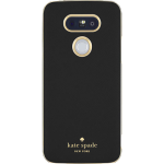 Kate Spade New York Wrap Case in Saffiano Leather for LG G5 (Black Gold)