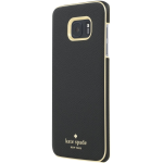 Kate Spade New York Wrap Case for Samsung Galaxy S7 Edge - Saffiano Black