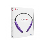 LG Tone Pro HBS-770 Bluetooth Stereo Headset - Purple