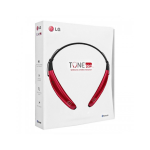 LG HBS-770 Tone Pro Bluetooth Stereo Headset - Red
