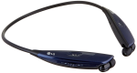 LG Tone Ultra HBS-810 Bluetooth Stereo Headset - Navy Blue