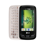 LG Cosmos Touch VN270 Replica Dummy Phone / Toy Phone (Black) (Bulk Packaging)