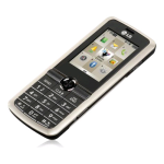 LG Glance VX7100 Replica Dummy Phone / Toy Phone (Silver & Black) (Bulk Packaging)
