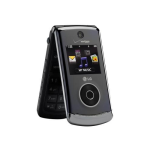 LG Chocolate 3 VX8560 Replica Dummy Phone / Toy Phone (Black) (Bulk Packaging)