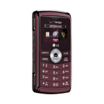 LG Env3 VX9200 Replica Dummy Phone / Toy Phone (Maroon)