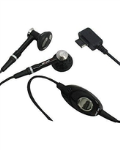 WASP Stereo Handsfree Headset for LG chocolate vx8500, vx8600, vx9900 - Black