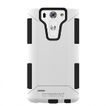 LG G3 VIGOR TRIDENT AEGIS SERIES CASE - WHITE/BLACK