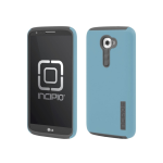 Incipio DualPro Case for LG G2 VS980 - Cyan Blue/Gray