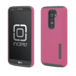 Incipio DualPro Case for LG G2 (AT&T/Sprint/T-Mobile) - Pink