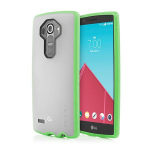 Incipio Octane Case for LG G4 - Frost/Neon Green