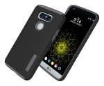 Incipio DualPro Shock-Absorbing Case for LG G5 - Black/Charcoal