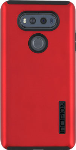 Incipio DualPro Shock-absorbing Case for LG V20 - Iridescent Red/Black