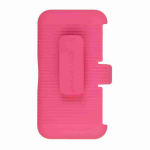 Unlimited Cellular Rocker Snap-On Case with Holster for LG Optimus G Pro E980 (Pink)