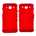 Rocker Series Silicone Skin Protector Case for LG Optimus G Pro E980 (Red)