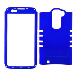 Rocker Series Snap-On Protector Case for LG K7 (Rubberized Honey Blue)