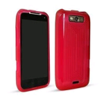 Technocel Slider Skin with Line Pattern for LG Viper LS840 - Pink