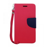 LG K20 PLUS TWO-TONE WALLET-HOT PINK
