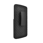 Verizon Shell Holster Combo with Kickstand for LG V10 - Black