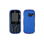 Verizon Rubberized Hard Snap-On Case for LG Cosmos VN250 - Blue