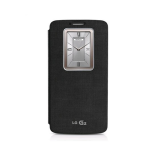 LG QuickWindow Folio Case for Verizon LG G2 VS980 - Black