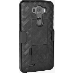 Verizon Shell Holster Combo with Kickstand for LG G3 - Black