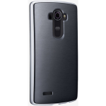 Verizon Soft Cover Bumper Case for LG G4 - Black/Silver