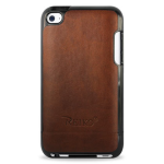 Reiko - Leather Protector Cover for Apple iPod Touch 4 - Bronzer